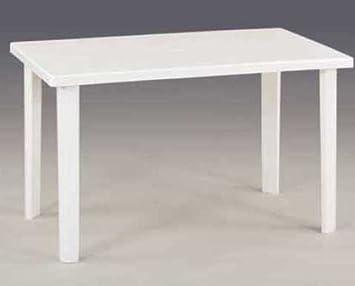 viscio trading marshall tavolo, bianco, 120x70x6 cm: amazon.it ... - Tavolo Cucina Bianco
