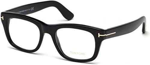 TOM FORD Eyeglasses FT5472 001 Shiny ()