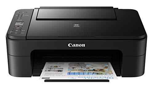 Canon Pixma E3370 All-in-One Wireless Ink Efficient Color Printer (Black)