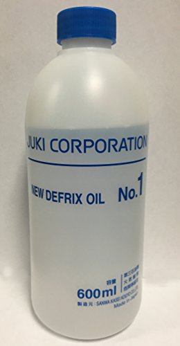 Juki Defrix Oil Number 1 Sewing Machine and Serger Oil 600ml