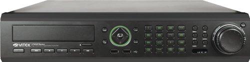 Vitek VT-EHP8/4T 8 Channel Premium H.264 Real Time D1 Digital Video Recorder (Black)