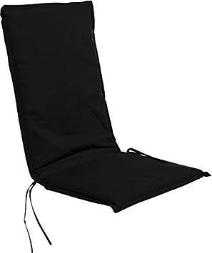 Coussin de chaise à dossier haut 116 x 45 cm - en 2 couleurs ...
