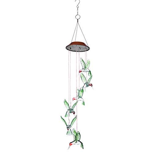 Outdoor Hummingbird Solar Lights in US - 3