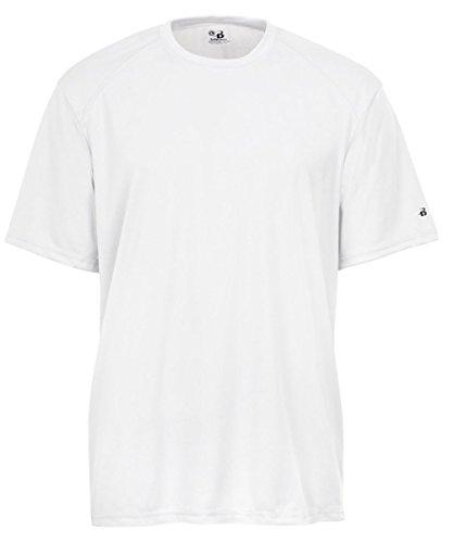 badger-sportswear-mens-b-dry-tee-white-large