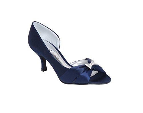 pour femme Bleu Escarpins Bleu marine LEXUS BYwz5W