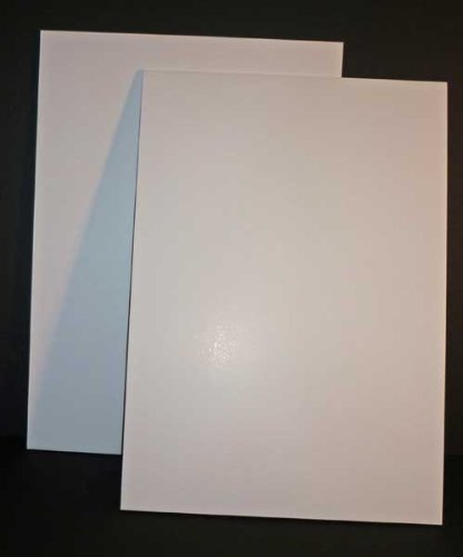 Foamboard - Set 10 fogli Poliplat formato A3, spessore 5mm, colore bianco Polyboard WFB53