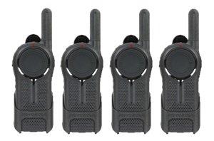 4 Pack of Motorola DLR1020 Two Way Radio Walkie Talkies by Motorola