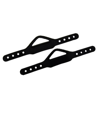 - Trident Universal Replacement Fin Straps - Pair