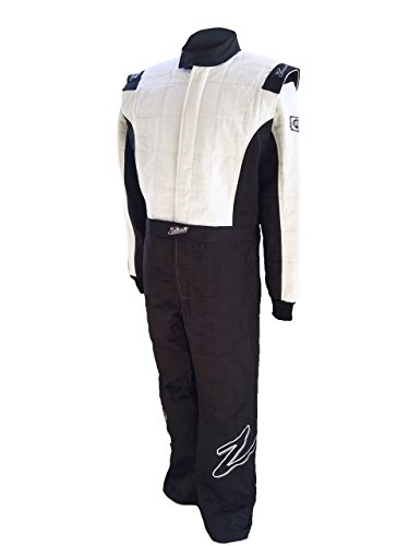 Zamp Men's Suit Multi Layer (Black and White, X-Large) ()