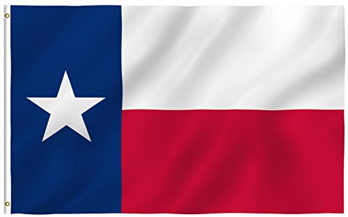 Maxam GFLGTX35 Texas Flag, 3' by 5'