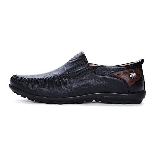Antideslizante Zapatos Libre Conducir Black Los Barco Senderismo A De Mano Acogedor Aire Chícharos Manga Al Ayuda Baja Del Hombres Ocio IEHqf