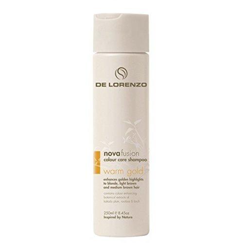 Nova Fusion Color Care Shampoo (Warm Gold) by De Lorenzo