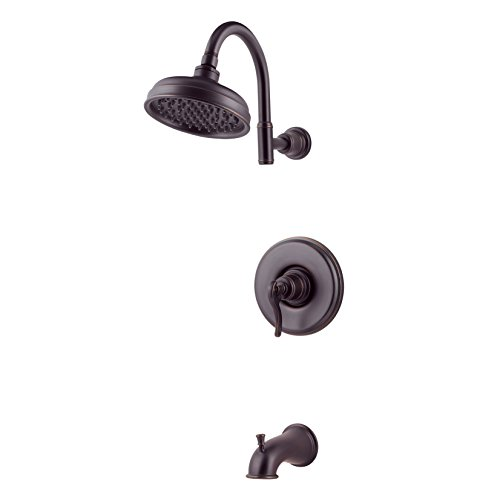 Pfister  G89-8YPY  Ashfield Saxton 1-Handle Tub & Shower Trim 2.0 gpm Tuscan Bronze ()