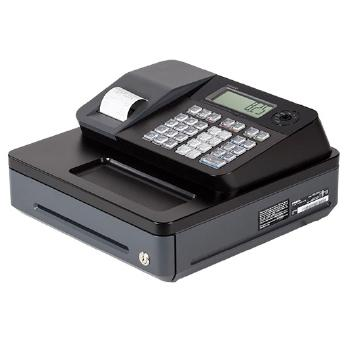 Casio PCR-T273 Electronic Cash Register - works on 120 V, 50/60Hz supply & needs memory backup batteries 1