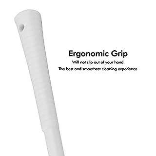 Leakproof Toilet Brush Set - grip