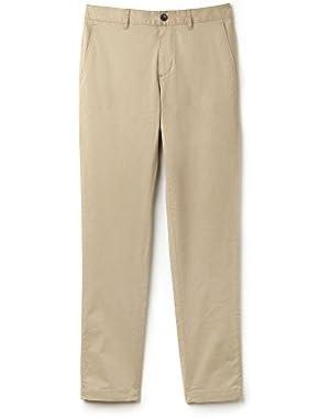 Lacoste Men's Men's Beige Chino Pants in Size W32 (40 EU) Beige