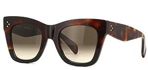 Authentic Celine CL 41090/S AEA/Z3 Havana Black Sunglasses