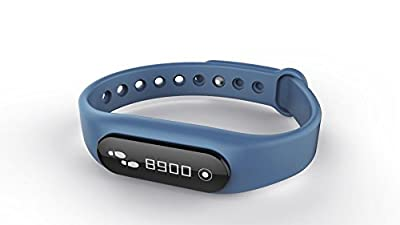 FitGo Prime Wireless Activity Fitness Tracker Watchband Smart Bracelet with Touchscreen