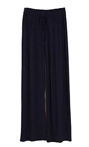 Aivtalk Womens Soft Modal Spandex Harem Yoga Pants Free Size-Black