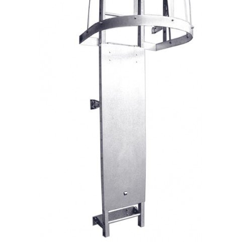Steel Fixed Ladder - Demuth D527 Security Door for Fixed Steel Ladders - Security Lockout System