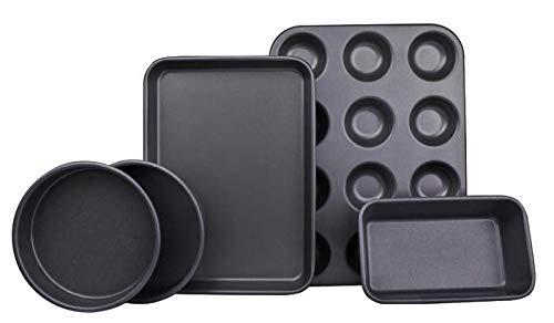 Ariana Homeware® - Juego de 5 piezas de moldes para hornear con ...