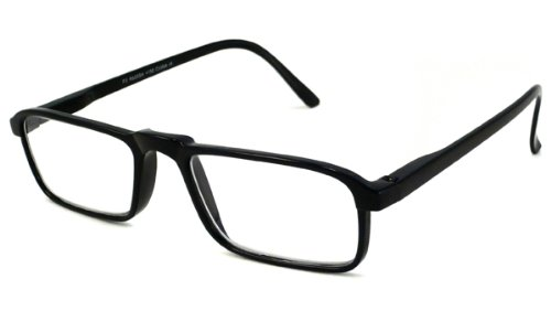 Able Vision Reading Glasses - Carbon Reader II Black/CARBON II BLACK +3.25-CARIIBLK325
