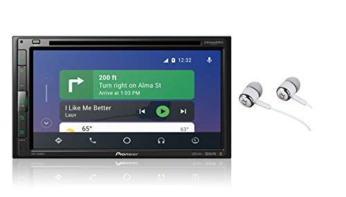 Pioneer-AVH-2500NEX-Built-in-Android-Auto-and-Apple-CarPlay-Double-DIN-68-Touchscreen-In-Dash-DVDCD-Car-Stereo-Receiver-with-Built-in-HD-Radio-WebLink-Pandora-Spotify-Free-Alphasonik-Earbuds