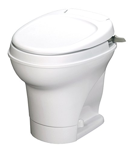 Thetford 31668 Aqua-Magic V RV Toilet, High Profile - Hand Flush - White