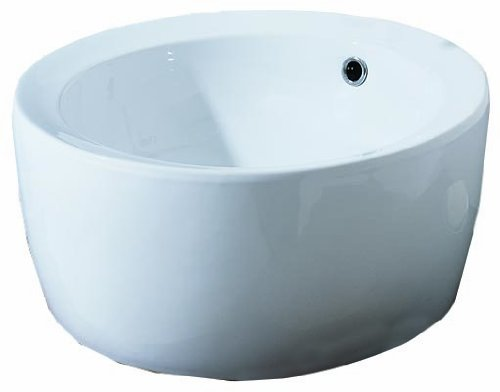 Porcher Console - Porcher 15090-00.001 Giro Above Counter Lavatory, White