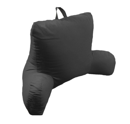 Lowest Price! Arlee Micro Suede Bed Rest Lounger, Black