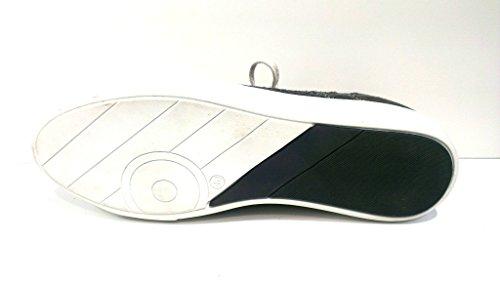 Bullboxer Schnürschuh, Größe 42, Velour-Textilkomnination grau, 317-K2-4396A