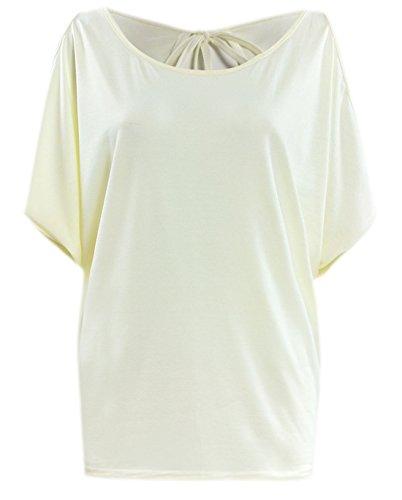 erdbeerloft - Camiseta - para mujer amarillo claro