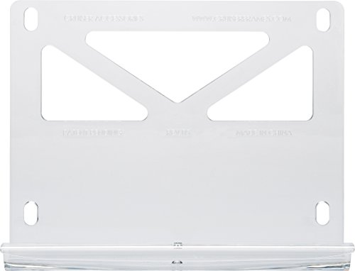 Cruiser Accessories 79001 Tuf Trunk Grip License Plate Mount, Clear