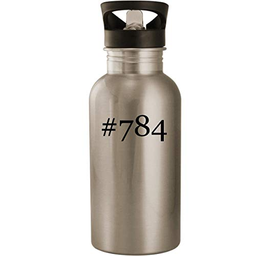 #784 - Stainless Steel Hashtag 20oz Road Ready Water Bottle, -
