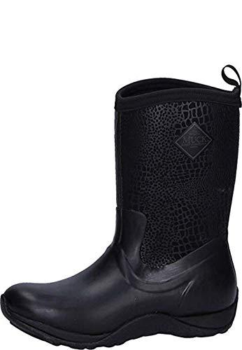 Muck Boot Women's Arctic Weekend Black Neoprene Boots 10