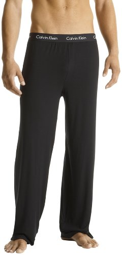 Calvin Klein Men's Body Modal Sleep Pant,Black,Large