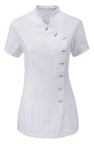 Momo&Ayat Fashions Ladies Beauty Hairdressing Spa Therapist Massage Salon Uniform Overall Tunic US Size 4-22 (US 4 (UK 8), ()