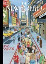 "The New Yorker, Volume LXXXVII, No. 30, October 3, 2011 (Cover) ""It's a Helluva Town"" * Fiction ""The House on Sand Creek"" * Living in an Ikea World. *A Billionaire's Scheme to Aid India's Poor & Much More"