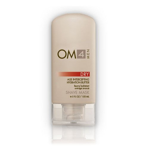 (Organic Male OM4 Dry Shave Mask: Advanced Age-Intercepting Hydration Butter)