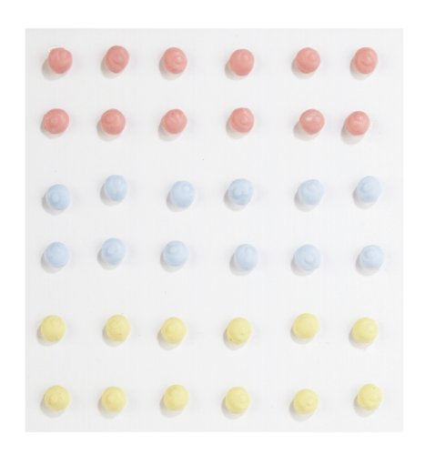 Jolee's Boutique Confections Icing Dots Dimensional Stickers, Multi-Color