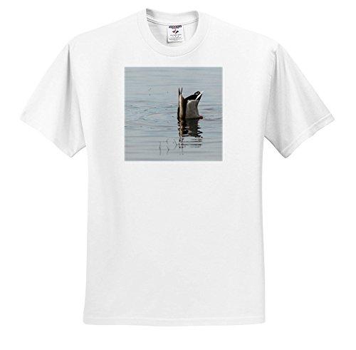 Danita Delimont - Ducks - USA, Oregon, Baskett Slough NWR, Mallard Drake Feeding. - T-Shirts - Toddler T-Shirt (4T) (TS_259930_17) ()