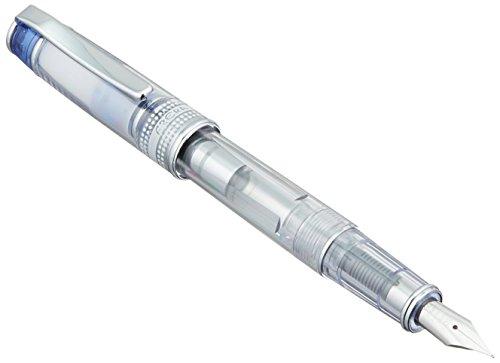 - Pilot Iro-Ai Fine-Nib Transparent Blue Body Fountain Pen (FPRN-350R-TLF)