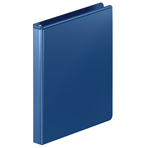 """Wilson Jones Ultra Duty Round Ring Binder with Extra Durable Hinge, 1/2"""", Navy (W87913PP3) (W87913PP3)"""