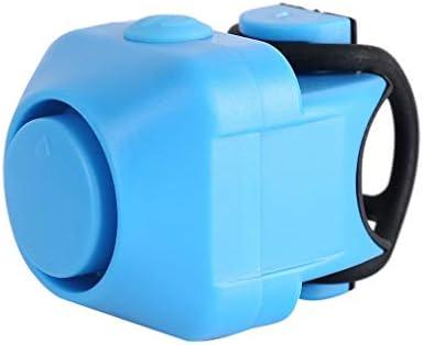 HAYQ 電動自転車ベルホーン防雨MTB自転車ハンドルベルシリカゲルシェルリングベル自転車アクセサリードロップシップZ0704 (Color : Blue)
