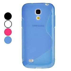 CECT STOCK S Funda forma para Samsung Galaxy S4 Mini I9190 , Negro