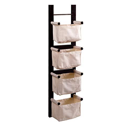 Winsome Wood 92444 Linea Storage/Organization Espresso