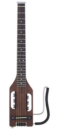 Traveler Guitar, 6-String Acoustic-Electric Guitar, Right, Antique Brown, (ULA ABNS) 31Wj4RAJ4CL