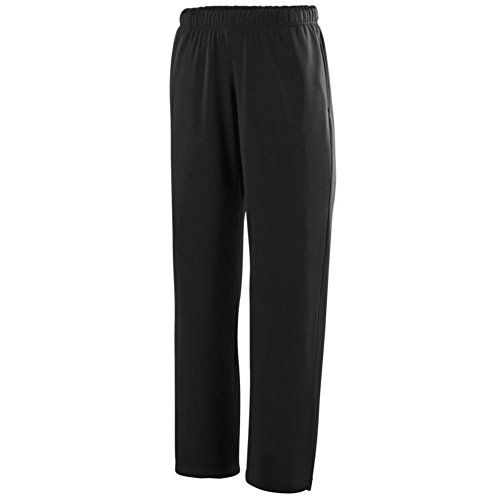 Augusta Activewear Wicking Fleece Sweatpant, Black, XX Large