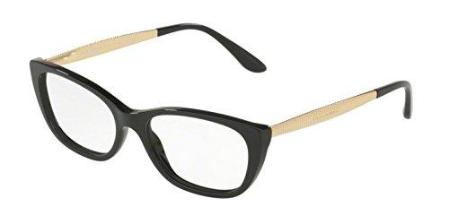Dolce&Gabbana DG3279 Eyeglass Frames 501-53 - Black DG3279-501-53