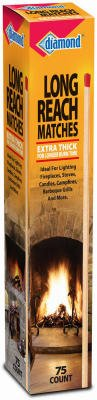 Jarden Home Brands 48789-11172 75 Count Long Reach Matches - Quantity 12